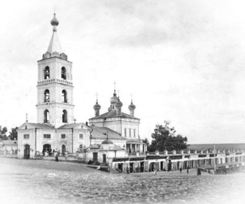 В Сарапуле на месте разрушенного Вознесенского собора будет отслужен молебен.