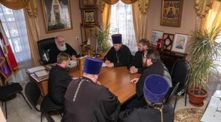 Состоялось совещание руководителей епархиальных отделов