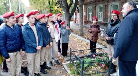 Юнармейцы прошли с экскурсией по местам связанным с событиями Великой Отечественной войны